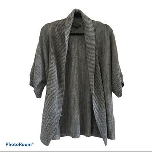 AGB open cardigan gray/silver size XL